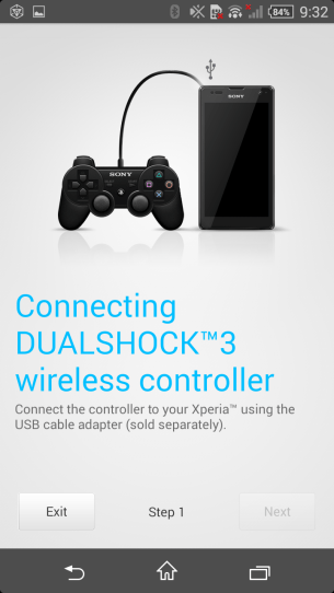 DualShock Controller Connection