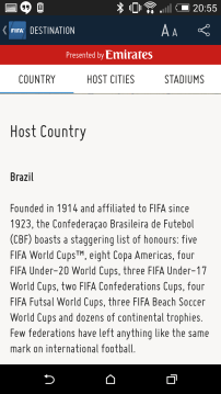 Read about Brazil