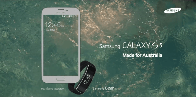 Galaxy S5 - Made for Australia