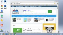 Chrome in the Desktop mode