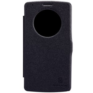 Nillkin Fresh Series Leather Quick Circle Case for LG G3 - Black