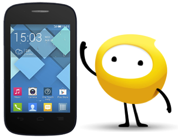 Alcatel Pop C1 Optus Pre-Paid