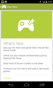 Google Play Games - What's New