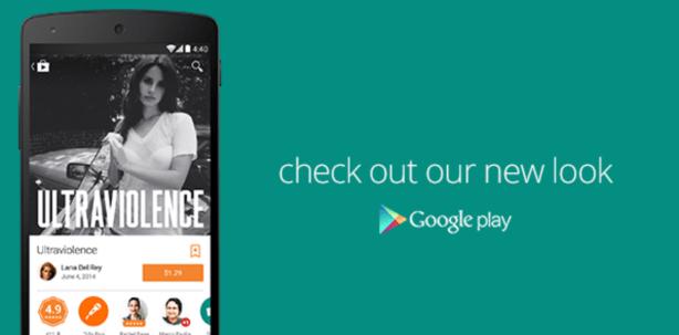 Material Design Google Play - Music