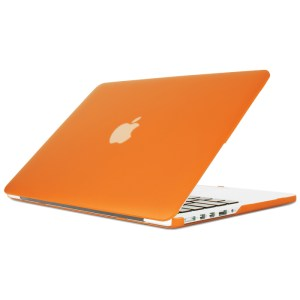 """15"""" Hard Shell Case for MacBook Pro with Retina Display - Orange"""