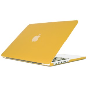 """15"""" Hard Shell Case for MacBook Pro with Retina Display - Yellow"""