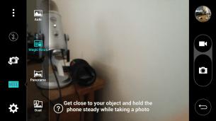 Camera UI Modes