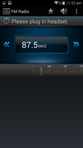 Bundled app: FM Radio