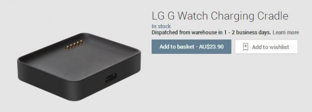 LG G Watch Cradle