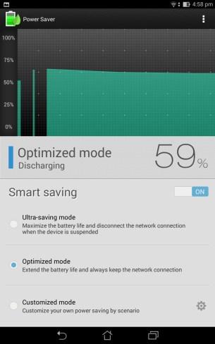 Smart saving mode