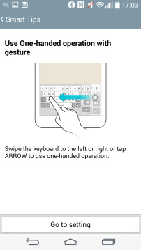 Smart Tips - One Handed Operation