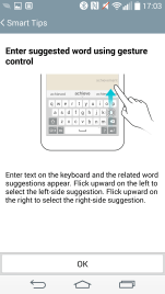 Smart Tips - Suggested Words (Keyboard)