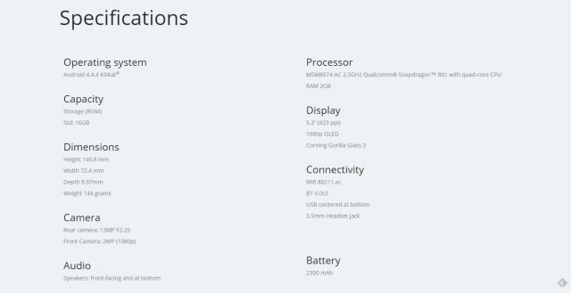New Moto X page is now on Motorola's Australian website