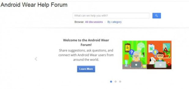 Android Wear Help Forum