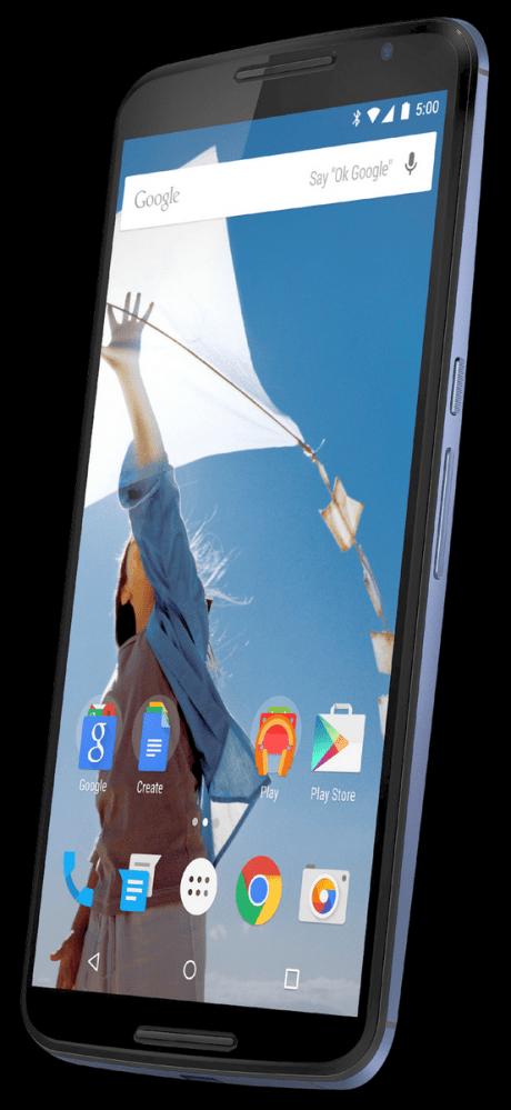 Nexus 6 Render - EVLeaks