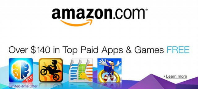 Amazon - 140 in apps
