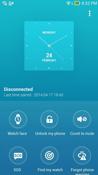 Asus ZenWatch Manager - Setup