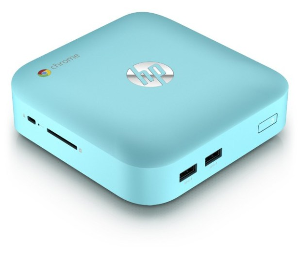 HP Chromebox - Turquoise