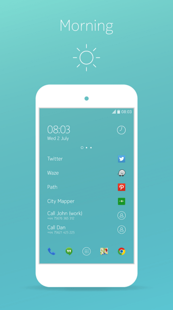 Nokia Z Launcher Screenshots - 1