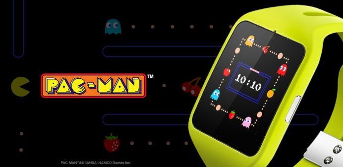 Andoid Wear PacMan