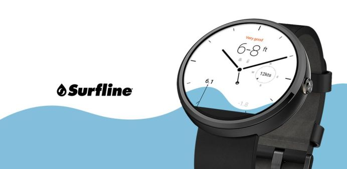 Android Wear Surfline