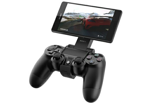 GCM10 - DualShock4 with Xperia Z3