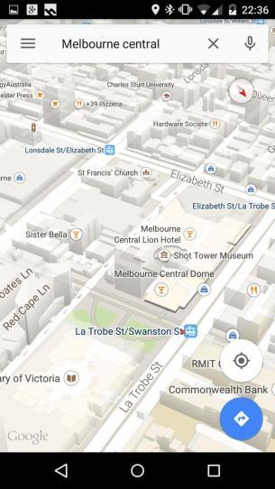Google Maps Buildings