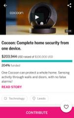 Indiegogo app 3