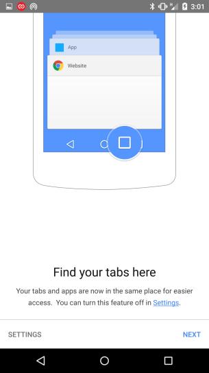 Chrome - Tabs