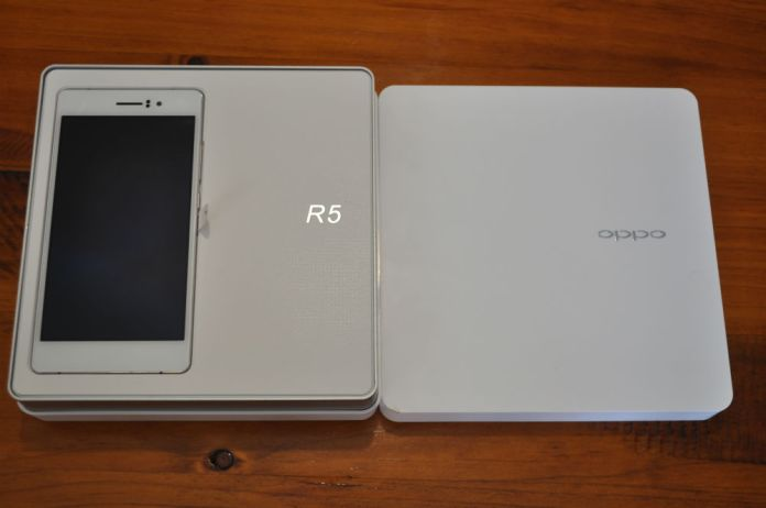 Oppo R5 Packaging
