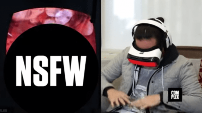 VR Porn Experience