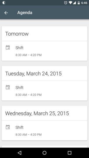 Google Now - Agenda 2