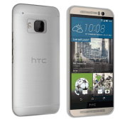 Orzly FlexiSlim Case - HTC One M9 - Smoke White