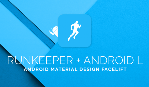 RunKeeper Android L