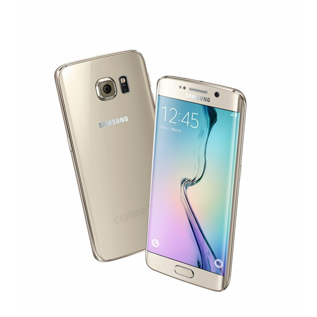 Galaxy S6 Edge - Gold Platinum