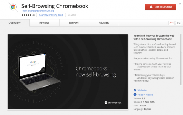 Google Chromebook Extension