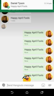 Hangouts - April Fools 3