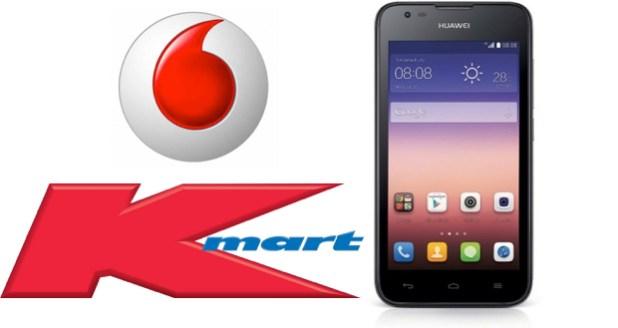 Kmart Huawei Vodafone