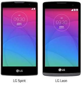 LG Leon and LG Sprint