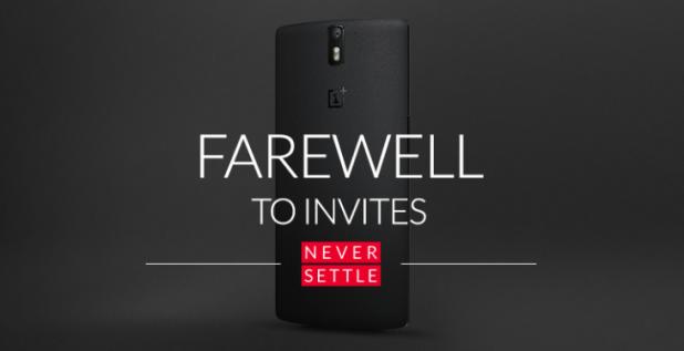 OnePlus - No More invites