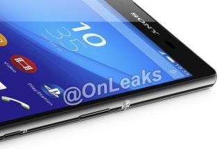 Xperia Z4 Render - Black 2