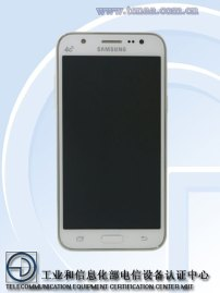Galaxy J5 Front