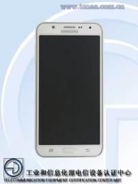 Galaxy J7 Front