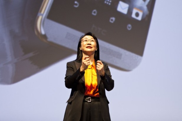 HTC CEO Cher Wang