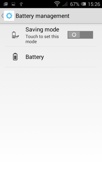 Pixi 3 - Battery Management