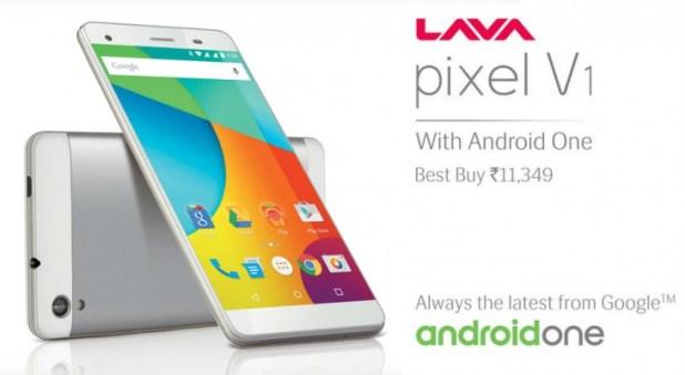 Lava Pixel V1 Android One Handset