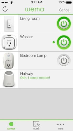 Wemo Insight Switch App2