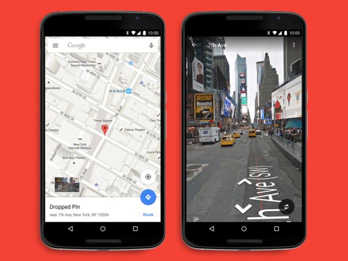 Google Maps - Fast Street View