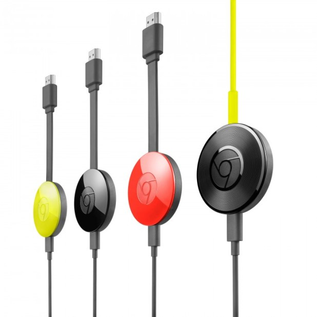 Chromecast gen 2 family