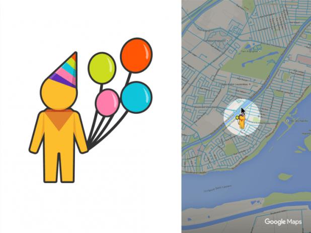 Google maps birthday pegman